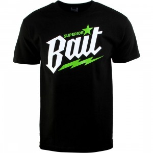 BAIT Superior BAIT Tee (black / white / green)