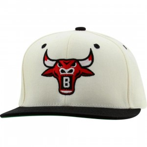 BAIT Bull Snapback Cap (natural / black / red)