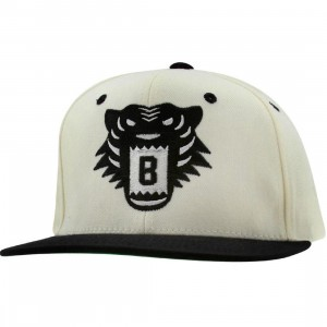 BAIT Tiger Snapback Cap (natural / black / black)