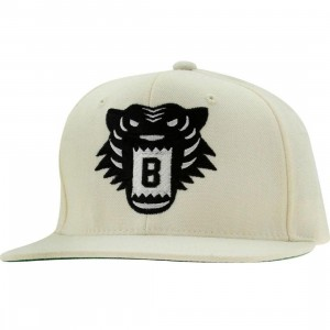 BAIT Tiger Snapback Cap (natural / black)