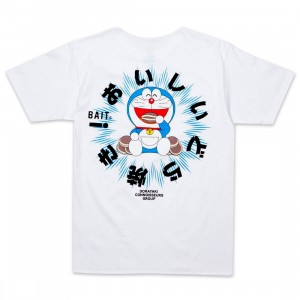 BAIT x Doraemon Men Dorayaki Tee (white)