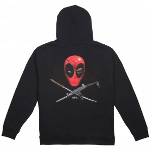 BAIT x Marvel Men Deadpool Ratatat Hoody (black)
