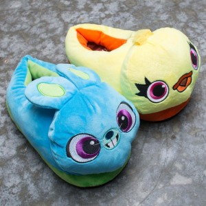 BAIT x Toy Story 4 Ducky Bunny Slippers (yellow / blue)
