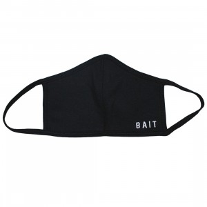 BAIT Embroidered Logo Face Mask (black)
