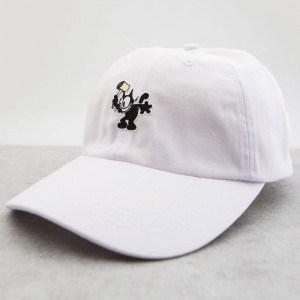 BAIT x DreamWorks Felix The Cat Hammer Dad Cap (white)