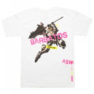 BAIT x Gundam Universe Men Barbatos Tee (white)