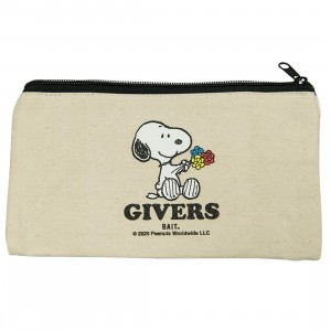 BAIT x Snoopy Givers Pouch (white)