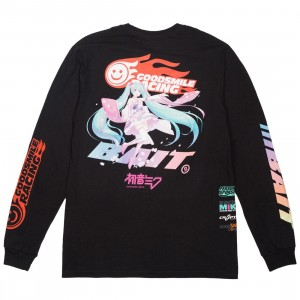 BAIT x Goodsmile Men Suzuka Racing Long Sleeve Tee (black)