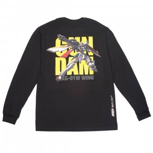 BAIT x Gundam Universe Men Wing Gundam Long Sleeve Tee (black)
