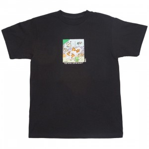 BAIT x Heathcliff Men Can't We All Get Along Tee (black)