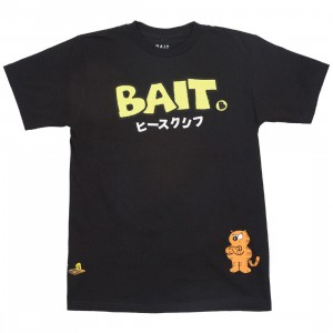 BAIT x Heathcliff Men Japanese Logo Tee (black)