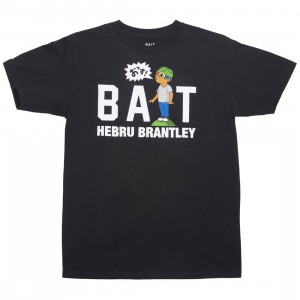 BAIT x Hebru Brantley Men BAIT Shout Logo Tee (black)