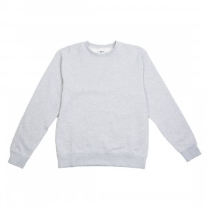 BAIT Men Premium Core Crew Neck (gray / heather)