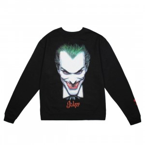 BAIT x Joker Men Face Crewneck Sweater (black)