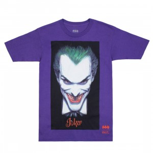 BAIT x Joker Men Face Tee (purple)