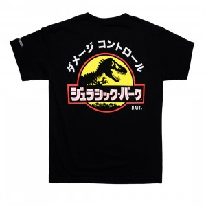BAIT x Jurassic Park Men Damage Control Tee (black)