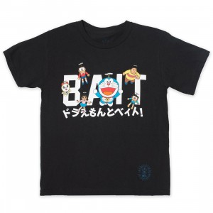 BAIT x Doraemon Youth BAIT Logo Tee (black)