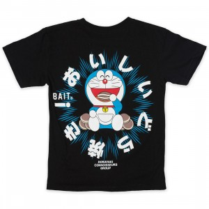 BAIT x Doraemon Youth Dorayaki Tee (black)
