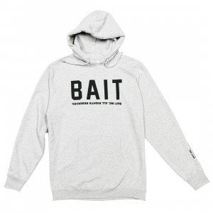 BAIT Men BAIT Logotype Hoody (gray / heather)