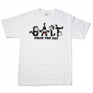 BAIT x DreamWorks Men BAIT Felix The Cat Tee (white)