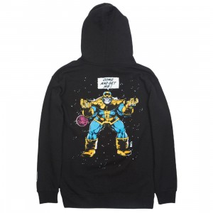BAIT x Marvel Comics Men Infinity Gauntlet Thanos Hoody (black)