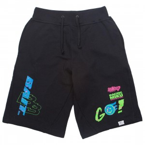 BAIT x Goodsmile Racing Men Racing Miku Shorts (black)