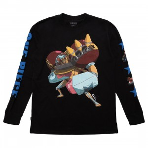 BAIT x One Piece x Upcycle LA Men Franky Long Sleeve Tee (black)