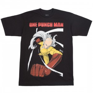 BAIT x One Punch Man Men Spring into Action Tee (black)