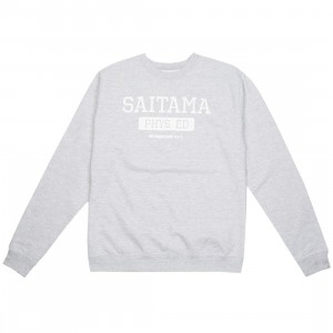 BAIT x One Punch Man Men Saitama Physical Education Crewneck Sweater (gray / heather)