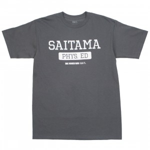 BAIT x One Punch Man Men Saitama Physical Education Tee (gray)