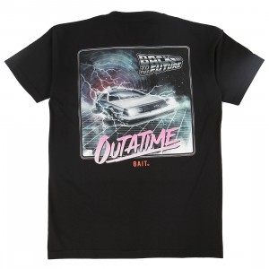 BAIT x Back To The Future Men Outatime Tee (black)