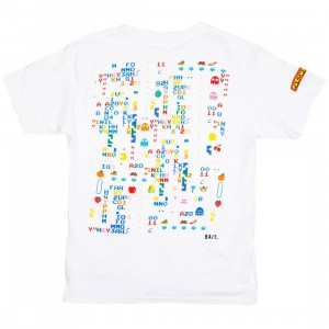 BAIT x Pacman Men Cherry Glitch Tee (white)