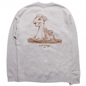BAIT x Pokemon Sepia Men Good Energy Crewneck (gray)