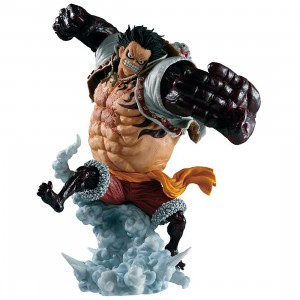 PREORDER - Bandai Ichiban Kuji One Piece Luffy Gear 4 Boundman Battle Memories Figure (tan)