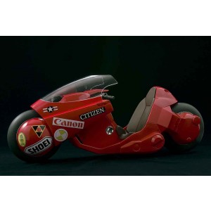PREORDER - Bandai Soul Of Popinica Akira Project BM! Kaneda's Bike Revival Ver. Figure (red)