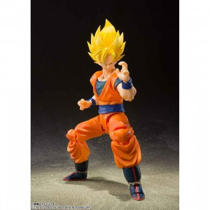 PREORDER - Bandai S.H.Figuarts Dragon Ball Z Super Saiyan Full Power Son Goku Figure (orange)