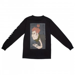 BAIT x Street Fighter x Kidokyo Men Akuma Long Sleeve Tee (black)