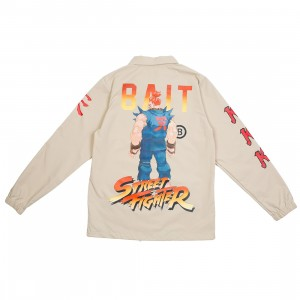 BAIT x Street Fighter Men Akuma Stance Jacket (sand)