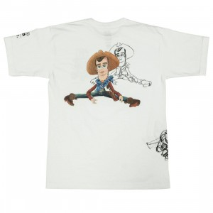 BAIT x Toy Story Men Woody And Buzz Sketch Design Tee (white)