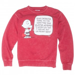 BAIT x Snoopy Men Chuck Valentine Crewneck (red)