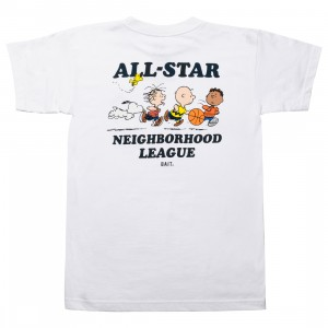 BAIT x Snoopy Men Neighborhood League Tee (white)