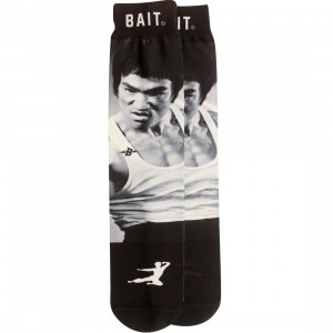 BAIT x Bruce Lee Legendary Socks (black / white) 1S