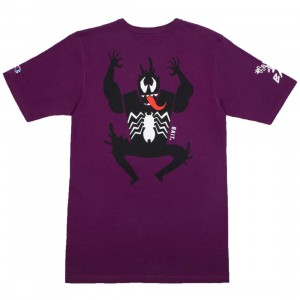 BAIT x Spiderman x Champion Men Spiderman Villains Tee (purple)