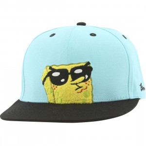 BAIT x SpongeBob Sunglasses Snapback Cap (tiffany / black)