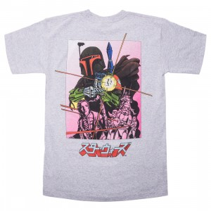 BAIT x Star Wars Manga Men Boba Fett Tee (gray)