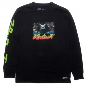 BAIT x Star Wars Manga Men The Tale of Skywalkers Long Sleeve Tee (black)