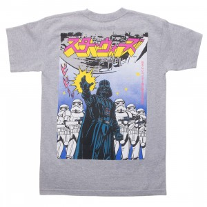 BAIT x Star Wars Manga Men Darth Vader Tee (gray)