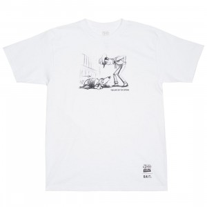 BAIT x Toy Story Men Woody And Slinky Tee (white)