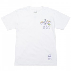 BAIT x Toy Story Made To Play Buzz Lightyear Youth Tee (white)