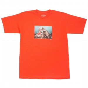 BAIT x Ultraman Men Kaiju Battle Tee (orange / texas orange)